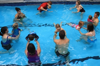 MSS - baby toddler swimming class